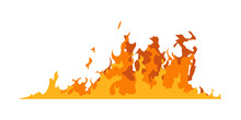 Fire Walls. Illustration Of A ...