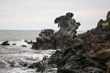 Dragon Head Rock At Jeju Islan...