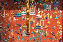 Glass Mosaic At The Buddhist W...