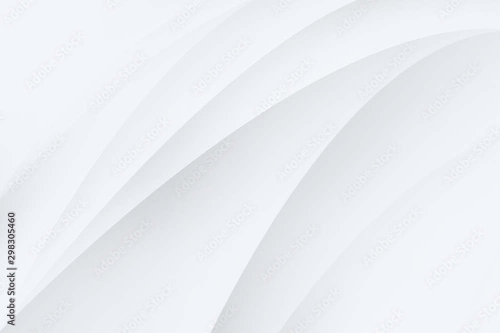 Fototapety, obrazy: Abstract backgrounds are white and gray the gradient color is soft.1
