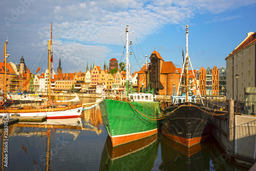 Fototapety, obrazy: Polish Gdansk Embankment