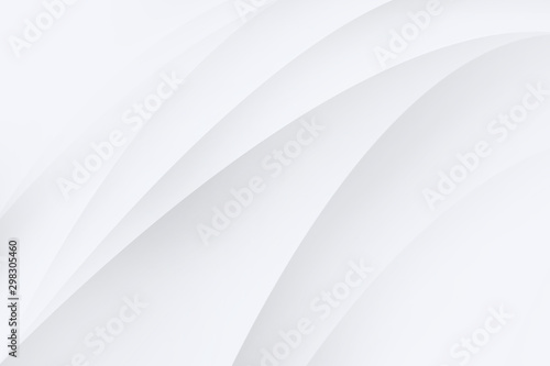 Fotografía  Abstract backgrounds are white and gray the gradient color is soft