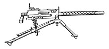 Browning Machine Gun, Vintage ...