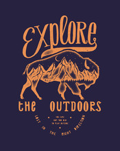 Explore The Outdoors - Vintage...