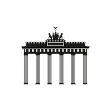 Brandenburg Gate Icon Berlin Building Travel