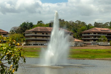Big Fountain In The Park
