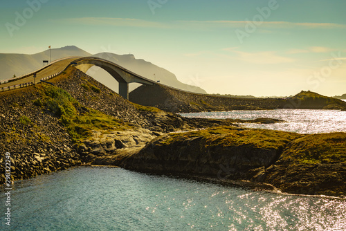 Fotografia  The Atlantic Road in Norway