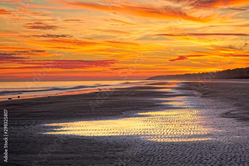 Keuken foto achterwand Oranje eclat Out Goes The Tide