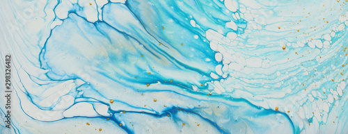 Photo art photography of abstract marbleized effect background