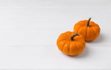 Autumn Composition. Pumpkins O...