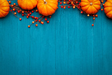 Autumn Thanksgiving Colorful S...