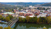 Aerial View Isolated On The St...