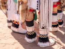 Feet Of Native American Dancers