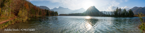 Almsee Herbst Panorama Wallpaper Mural