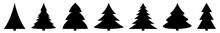 Christmas Tree Black Icon | Fi...