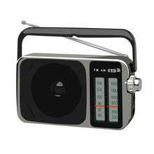 Vector Illustration Portable Am Fm Radio