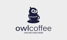 Owl Coffee Logo Design Idea