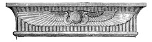 Architrave Of Entablature Over...