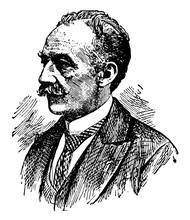 Thomas Hardy, Vintage Illustration