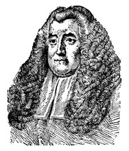 Sir William Blackstone, Vintage Illustration