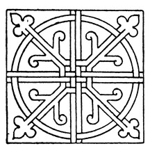 Tiles Square Panel In The Cist...