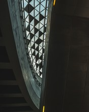 Glass Ceiling With Geographica...