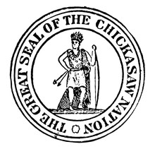 The Seal Of The Chickasaw Nati...