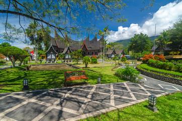 traditonal house minangkabau