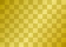 市松模様の金箔素材