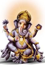 Indian Powerful God In Ganesh