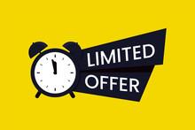 Red Limited Offer Logo, Symbol Or Banner