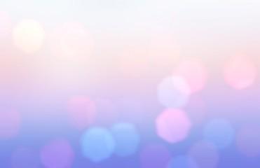 Bokeh lilac pink blue wonde...