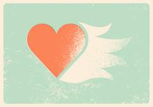 Valentine Greeting Card. Heart...