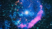 Colorful Deep Space. Universe ...