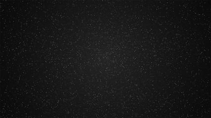 White dots on a black background. Modern background. Vector illustration.