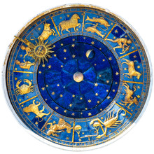 Zodiac Wheel And Signs Of Medi...