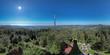 Hohe Möhr, Schwarzwald, 360 birds eye panorama