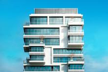 Modern Apartment Building - Real Estate Exterior