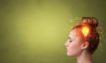 Head With New Idea, Lighting B...