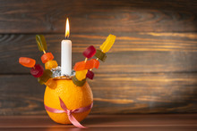Orange Christingle Is A Symbol...