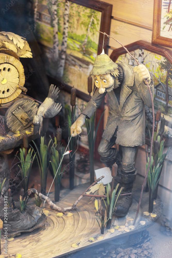 fisherman fairytale age nature vintage feelings art