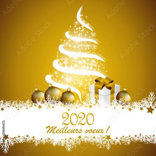 Fototapeta 2020  - Meilleurs vœux obraz