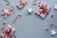 Festive Christmas Background W...