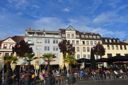 Obraz na plátne Mannheim Marktplatz