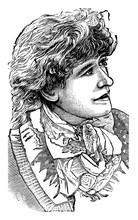 Ellen Terry, Vintage Illustration