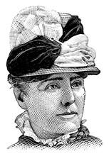 Kate Field, Vintage Illustration