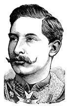 Wilhelm II, Vintage Illustration