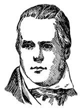 Sir Walter Scott, Vintage Illustration