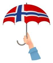 Norway Flag Umbrella
