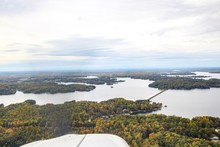 Aerial View Of Lake Anna In Vi...
